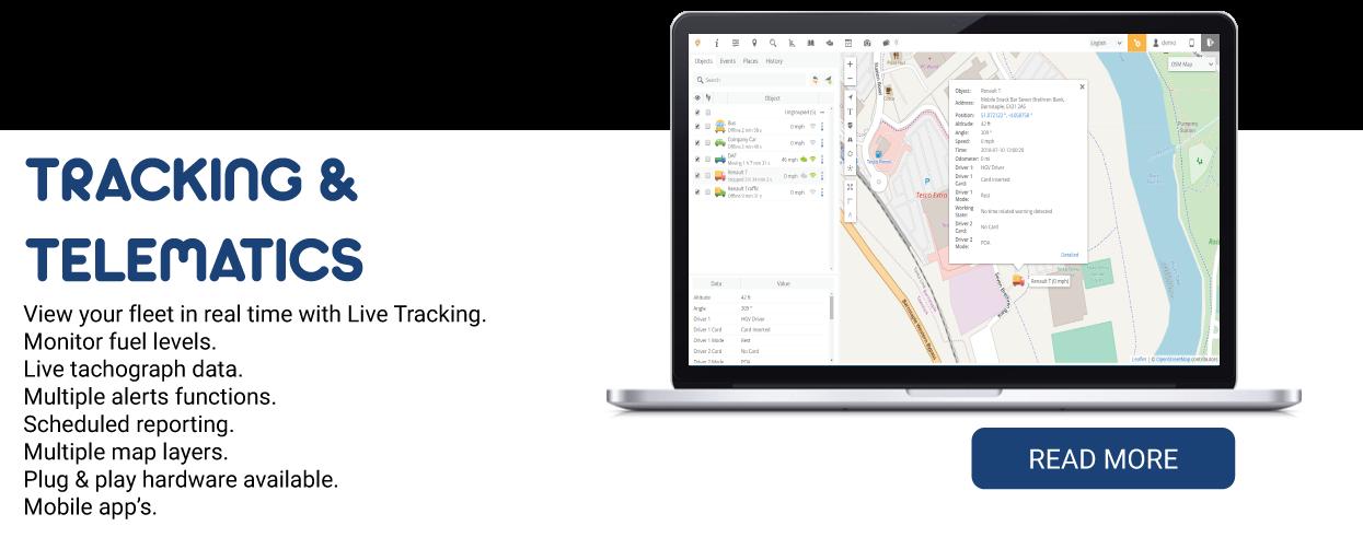 tracking-homepage